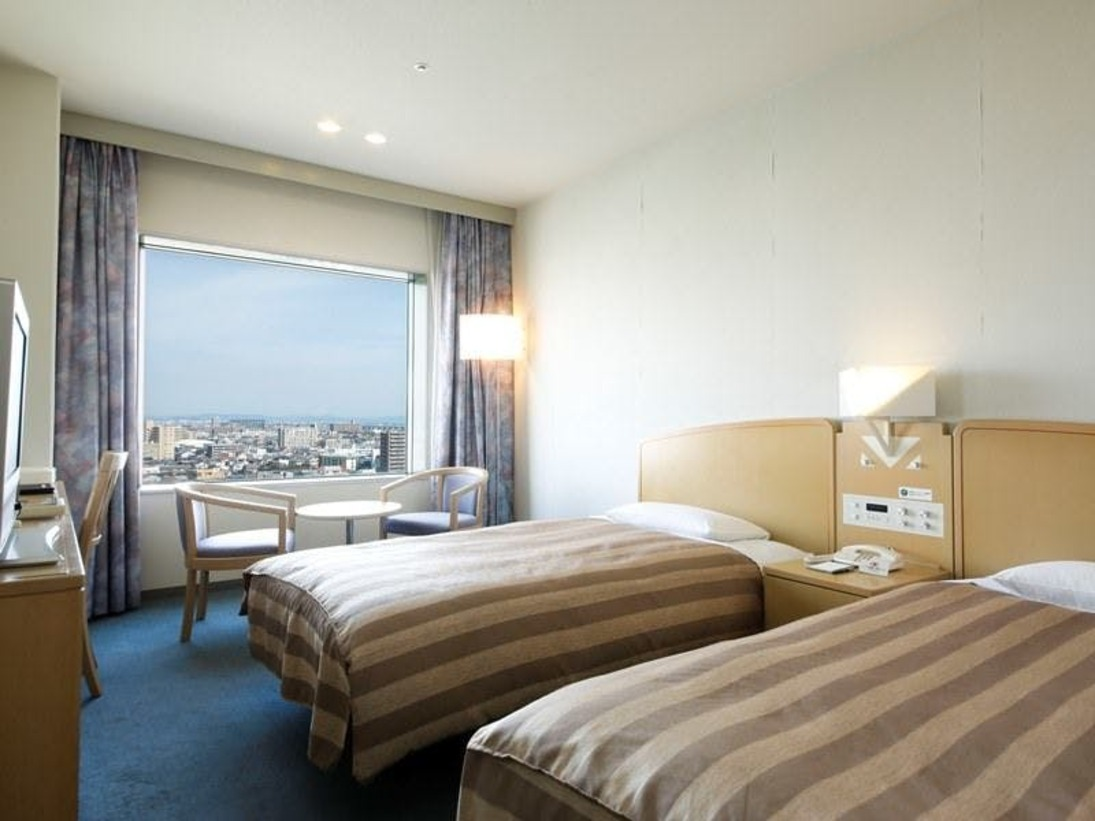 ◆リバーサイドツインルーム◆22.5平米/ベッド幅110cm