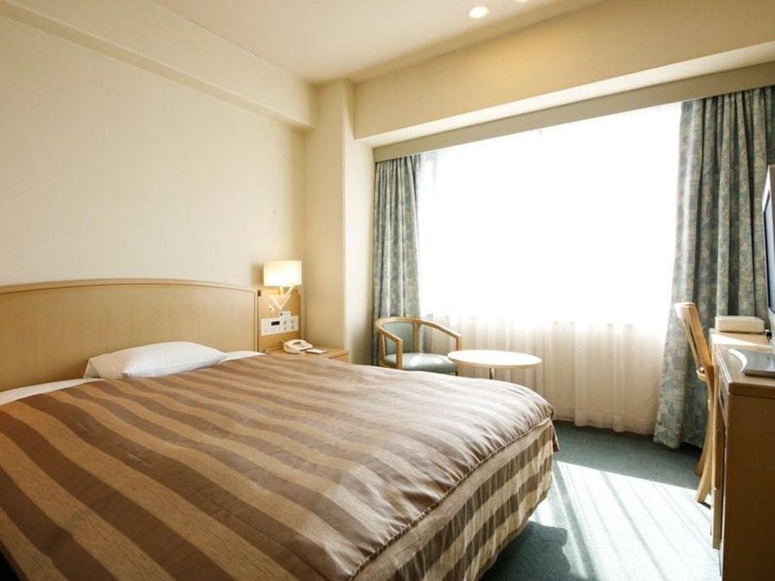 ◆スタンダードシングルルーム◆17.4平米/ベッド幅120cm