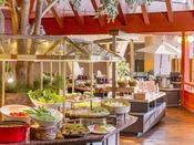 【ブッフェスタイルイメージ】夕食・朝食は会場が複数会場ございます。(1箇所の場合もあり)