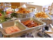 ■朝食バイキング一例/一日を元気にお過ごしいただける健康的な朝ごはんをご用意いたします。