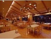夕食会場のイメージ