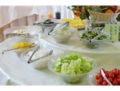 ■ご朝食バイキング一例/地元の食材をたくさんご用意しております