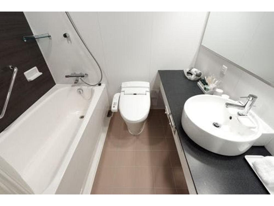 ツインルームのバスルーム