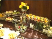 ◆充実のデザートコーナー