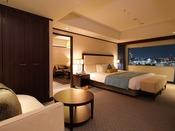 【エグゼクティブスイート】66平米 心落ち着く穏やかで広々とした寝室