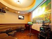 カラオケ山手線 イーストタワー1Fホテル自慢の料理と一緒にカラオケを