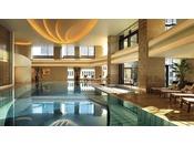 皇居外苑や日比谷公園の緑を臨む開放感溢れるプールで、都会の喧騒を離れたくつろぎのお過ごしください。