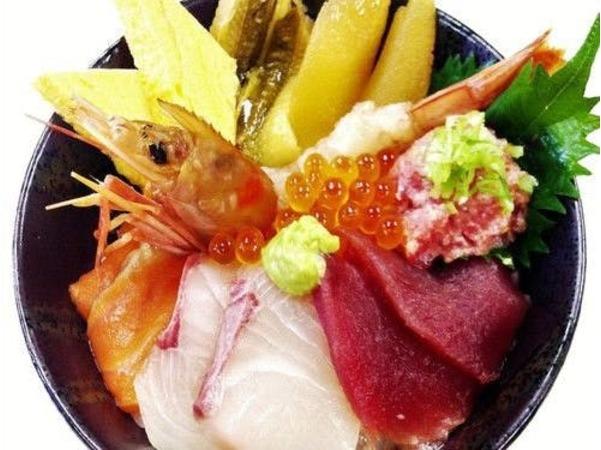 【海鮮丼チケット付】