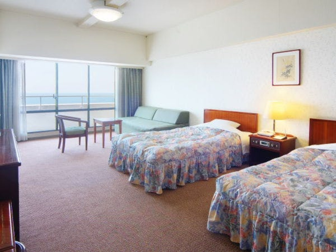 【洋室イメージ】洋室は全室36平米と広々♪ごゆっくりご就寝下さい。(3名様以上はソファベット)