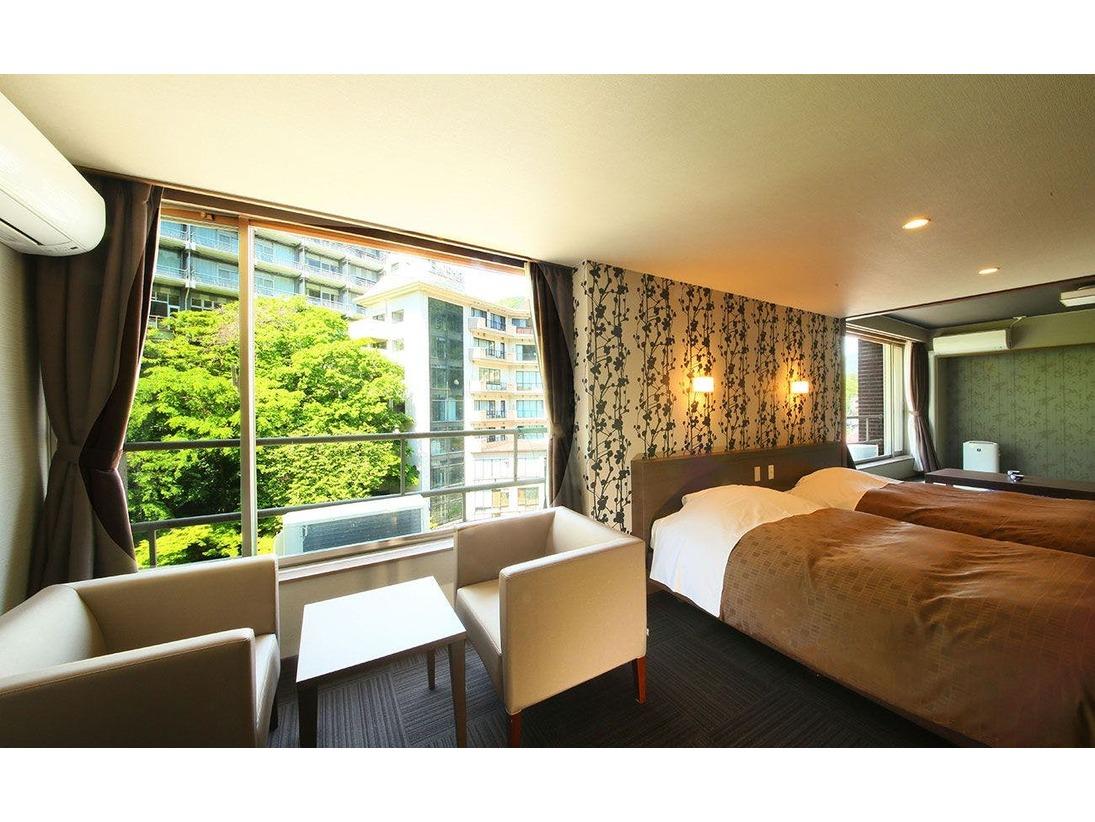 和室、洋室、和洋室など様々なタイプのお部屋をご用意しております。