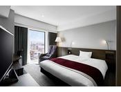 デラックスダブル/26平米/ベッド幅168cm