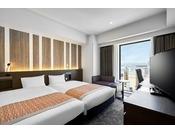 モデレートツイン/24平米/ベッド幅110cm