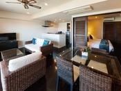 コンドスタイル棟2階~10階のお部屋タイプ。広いリビングとキッチン付で快適にお過ごしいただけます。