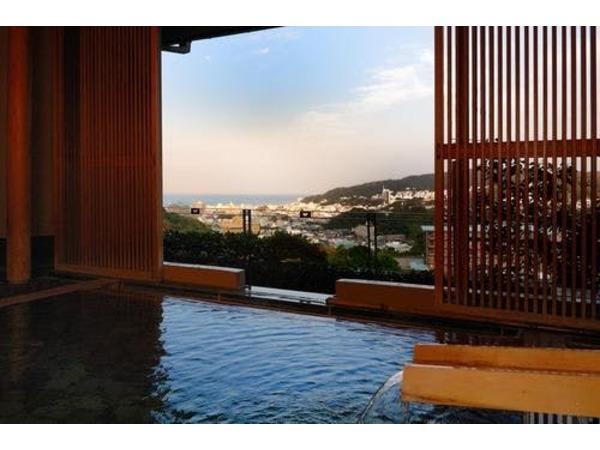 好眺望の露天風呂『風の湯』