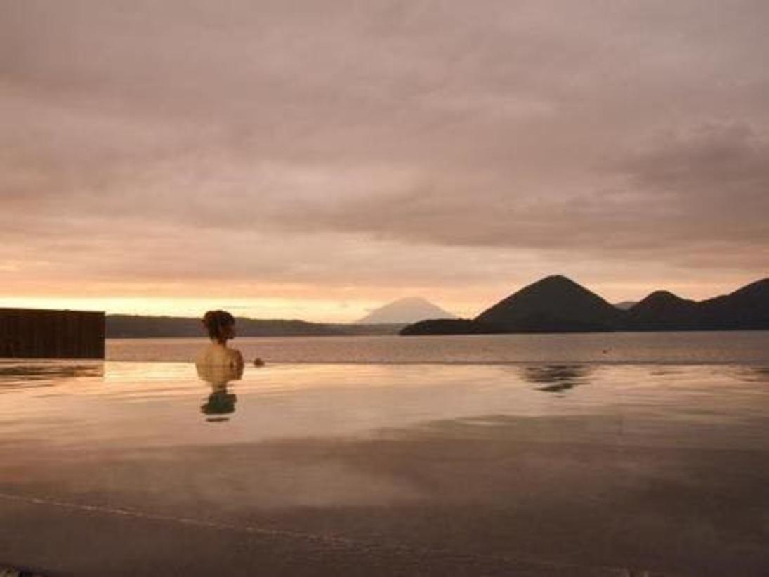 【露天風呂】洞爺湖と一体感を愉しみに