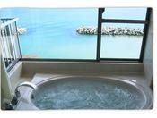お部屋の内風呂(展望ジャグジーバス)
