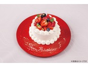 記念日等にホールケーキもご用意しております(有料)※5日前までに要予約