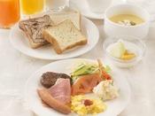 朝食 和洋バイキング(洋食盛付け例です)