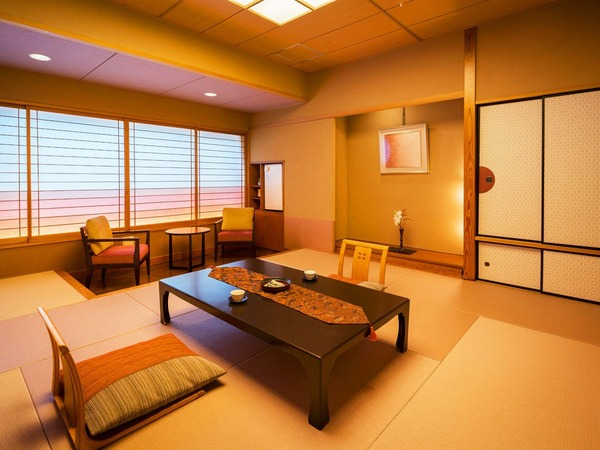 お客様次第で楽しみ方は多種多彩な人気客室