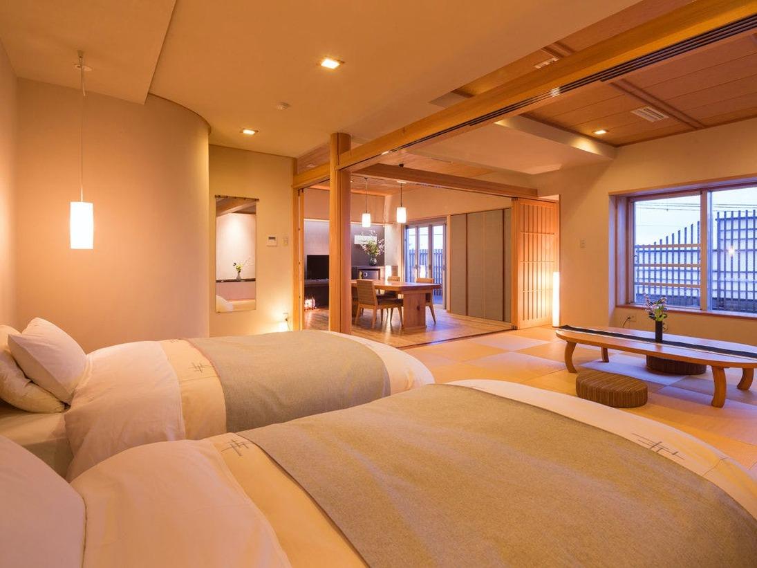 ・スイート特別室・いつもよりちょっと贅沢な、≪露天風呂付き客室≫で特別なひと時をお過ごしいただけます