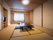 【安らぎの空間~ 湯ったり和室】くつろぎの和室 一例
