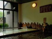 男性大浴場(古代檜使用)