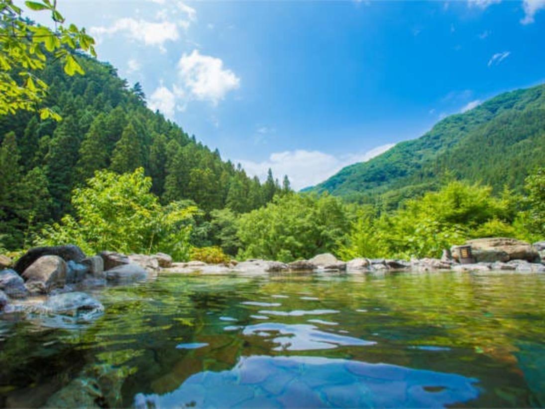 【日本温泉協会が認定 5ツ星!極上温泉】が皆様を必ず癒します。