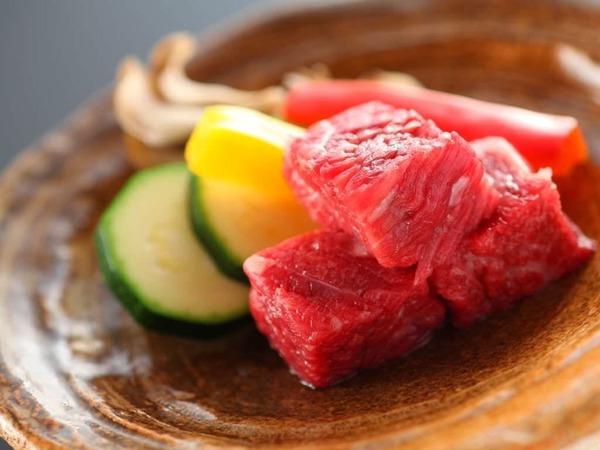 信州アルプス牛サーロイン陶板焼き