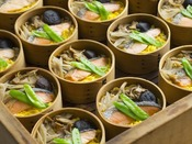 会津郷土料理の代表「わっぱ飯」