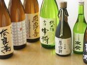 米どころ会津の地酒も多数ご用意