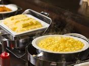 常時約2種類の卵料理をご用意。