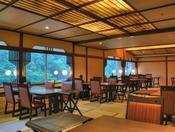 温泉付き客室専用・和食ダイニング山桜