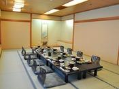 ご宿泊人数が多くなった際は、個室宴会場をご用意いたします。 ※会場数に限りがあります