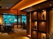 温泉付き客室専用の和食ダイニング山桜 ゆっくりとお食事の時間をお楽しみ下さい。 ※最大17テーブル