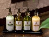 【アメニティ】DHCのオリーブゴールドシリーズ。クレンジング/化粧水/乳液/ヘアミルク