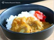 帆立りんごカレー/朝食時間6:30~10:00(最終入店9:30)