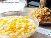 コーンフレーク/朝食時間6:30~10:00(最終入店9:30)