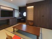 禁煙和洋室50平米(お部屋のタイプはお選びいただけません。予めご了承ください。)