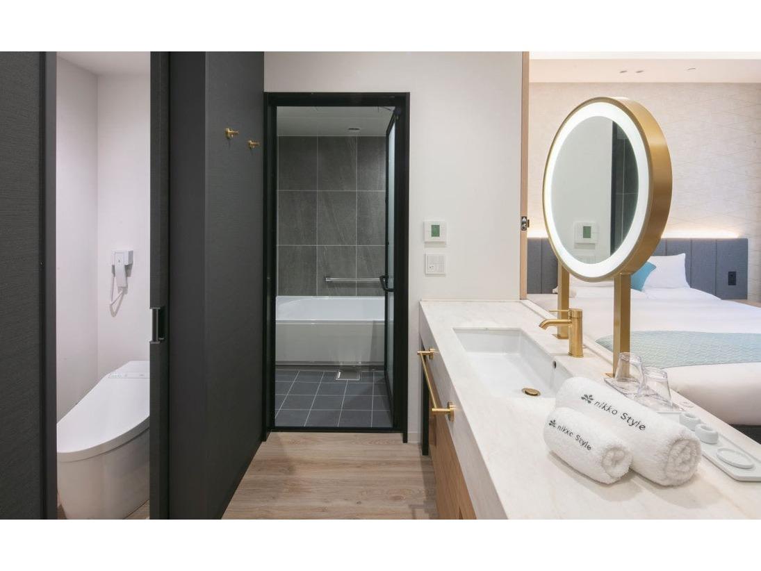 全室バス・トイレ独立
