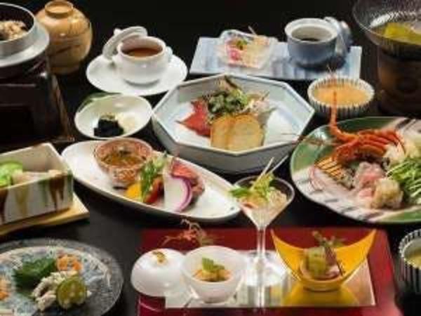 ご夕食は和洋懐石 料理一例