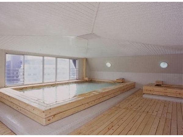 最上階(6階)にある大浴場