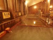 【大浴場】豊富な種類の浴槽で、ごゆっくりおくつろぎください。