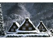 ◆白川郷(冬景色)