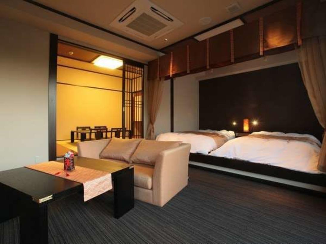 和洋室タイプの客室です。