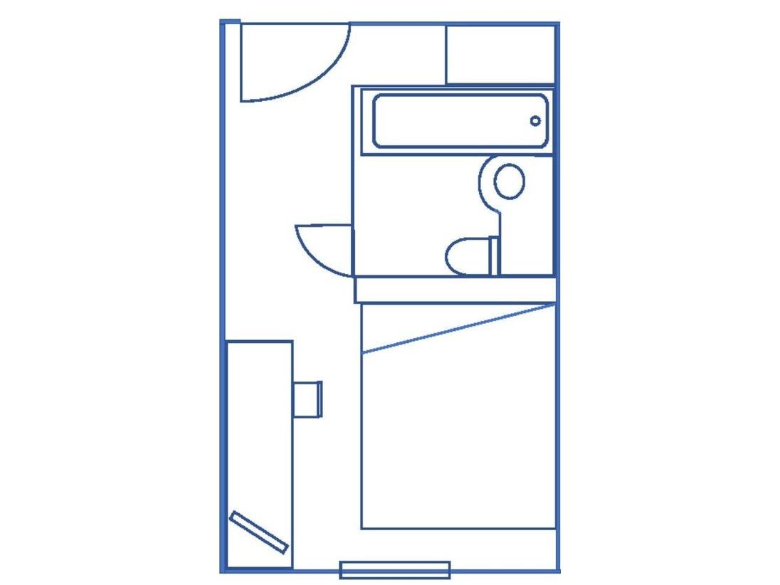 客室平面図