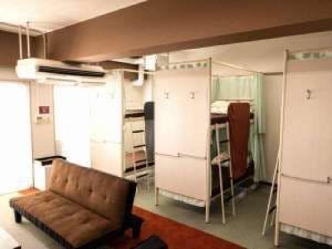 【個室】洋室B バス・トイレ共用
