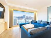 【客室】ファミリースイート/58平米/4名様まで宿泊が可能なスイートルーム。