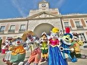 志摩スペイン村では愉快なキャラクター達が待ってるよ!