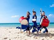 大迫力の琉球舞踊(イメージ)