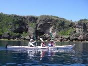 リザンから出発!カヤックで沖縄の大海原を大冒険!